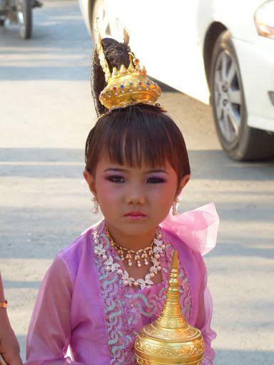 portrait d'enfant birman