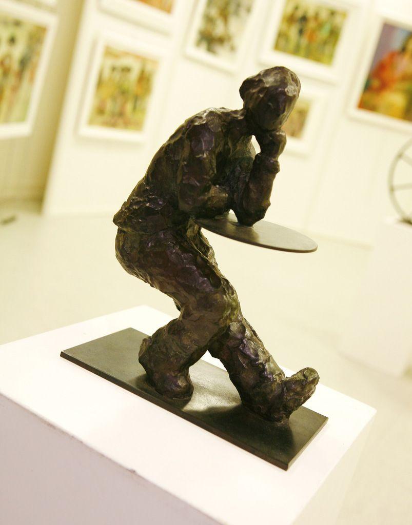 Fabien NOURRISSON, sculpteur présent aux Rencontres 2015