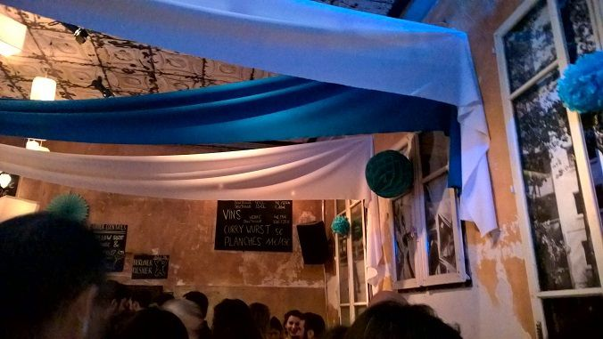Un soir que j'étais au Wunderbar, peu avant l'Oktoberfest...