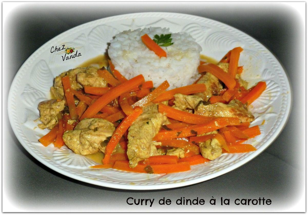 Curry de dinde à la carotte