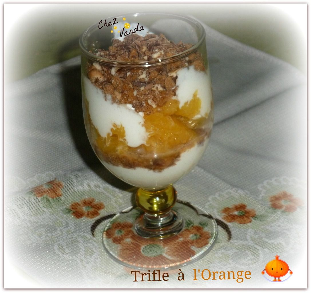 Trifle à l'orange