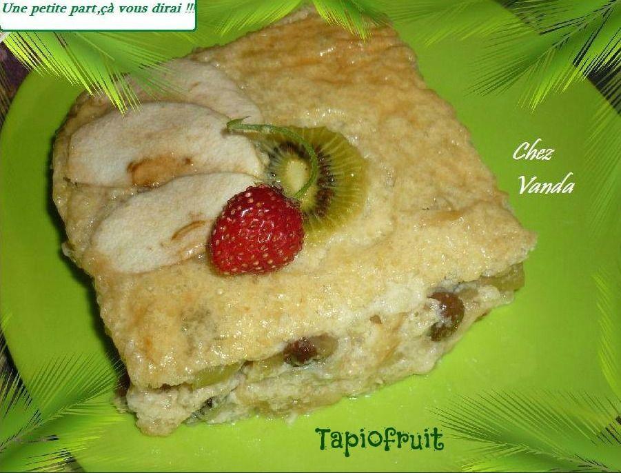 Tapiofruit