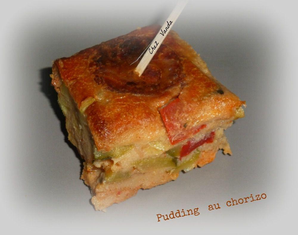 Pudding au chorizo