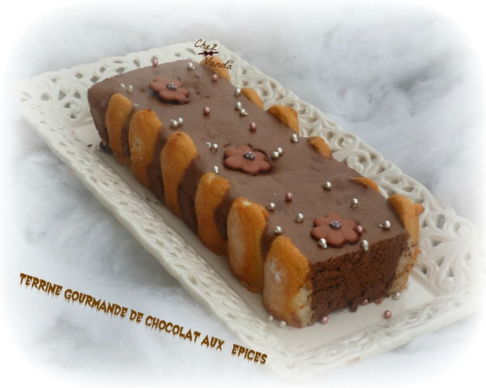 Terrine gourmande de chocolat aux épices