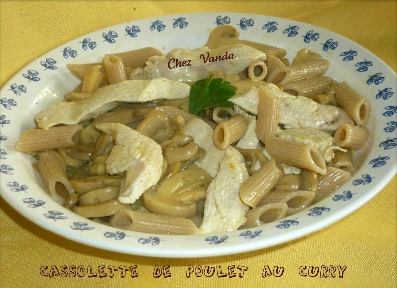 Cassolette de poulet au curry blogs de cuisine - Cuisine poulet au curry ...