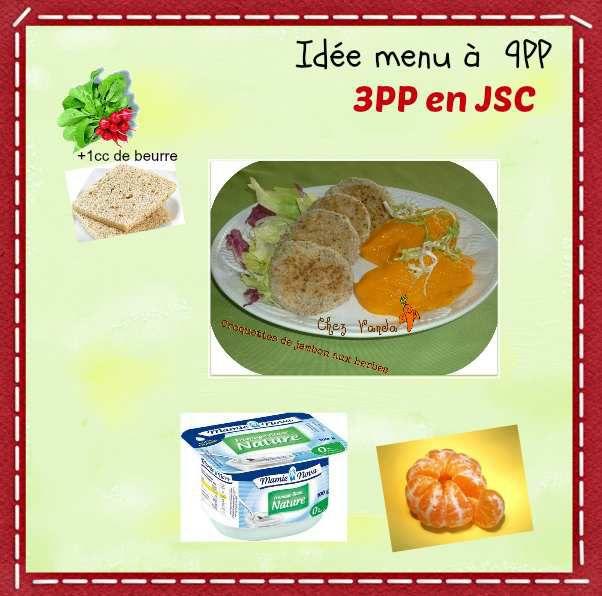 Idée menu à 9PP