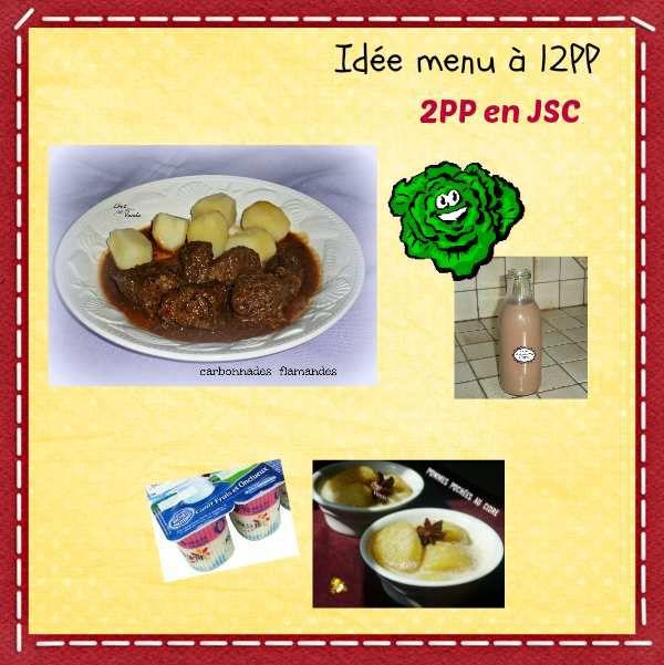 Idée menu à 12PP