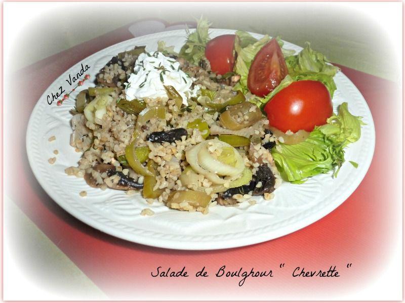 Salade de boulghour &quot&#x3B;chevrette &quot&#x3B;
