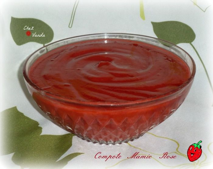 Compote Mamie Rose