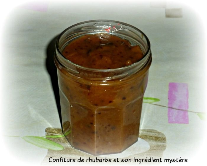 confiture quetsches rhubarbe