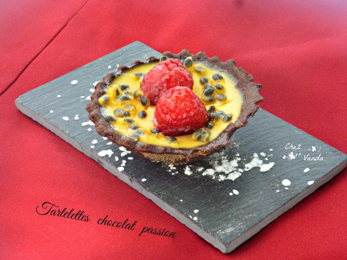 Tartelettes chocolat passion