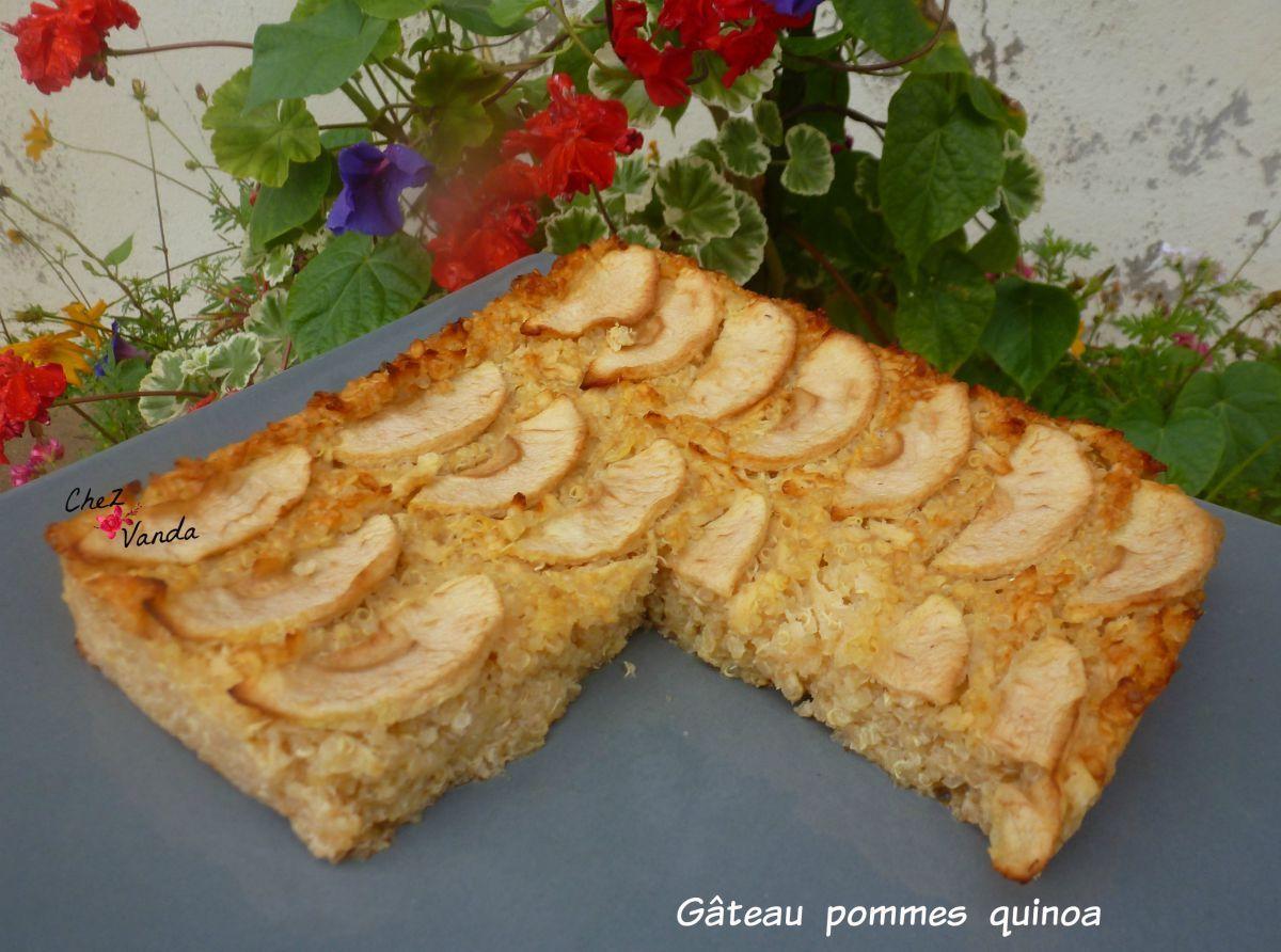 Gateau Pommes Quinoa Chez Vanda