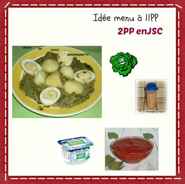 Menu du dîner du jour à 11PP