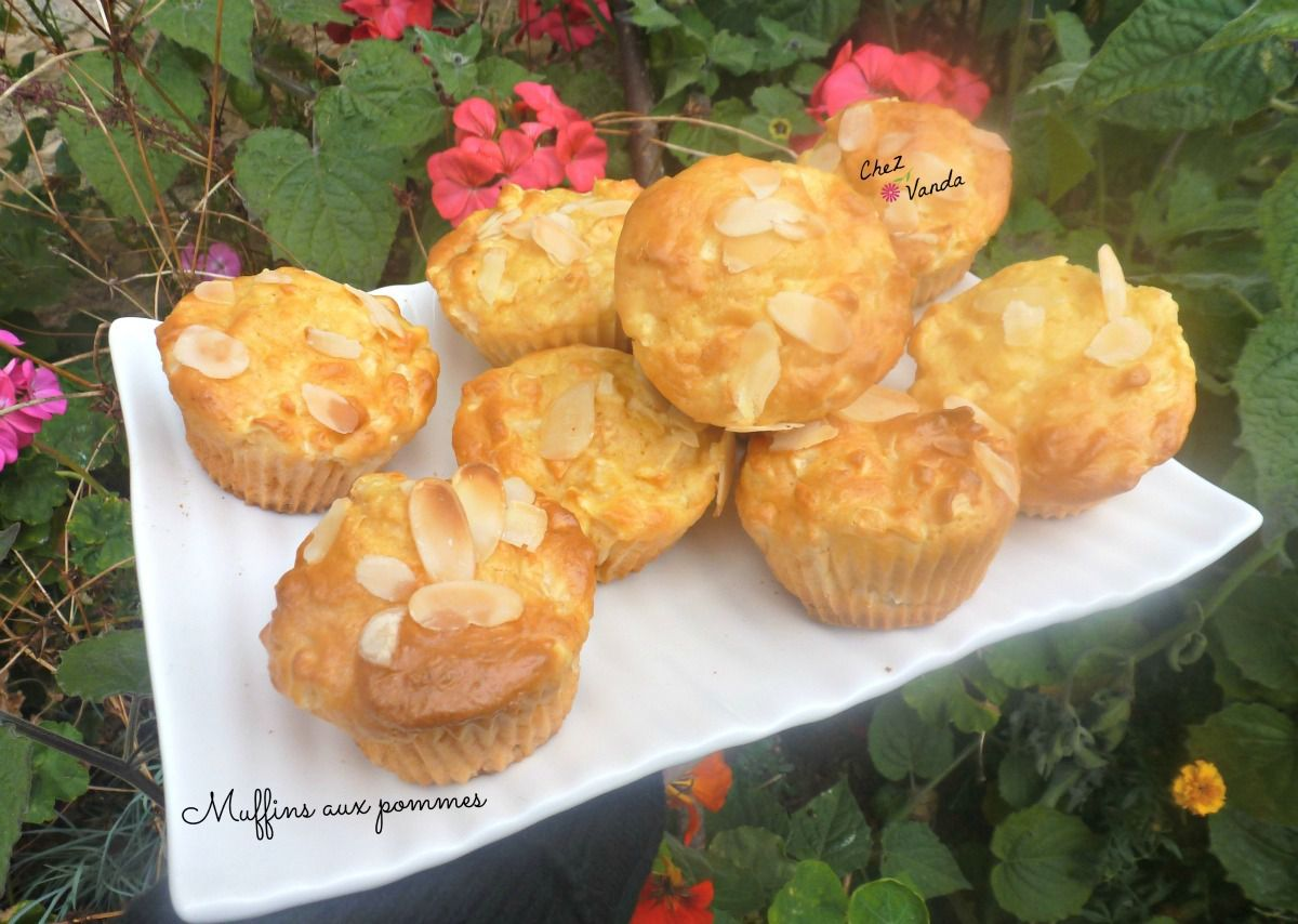 Muffins aux pommes