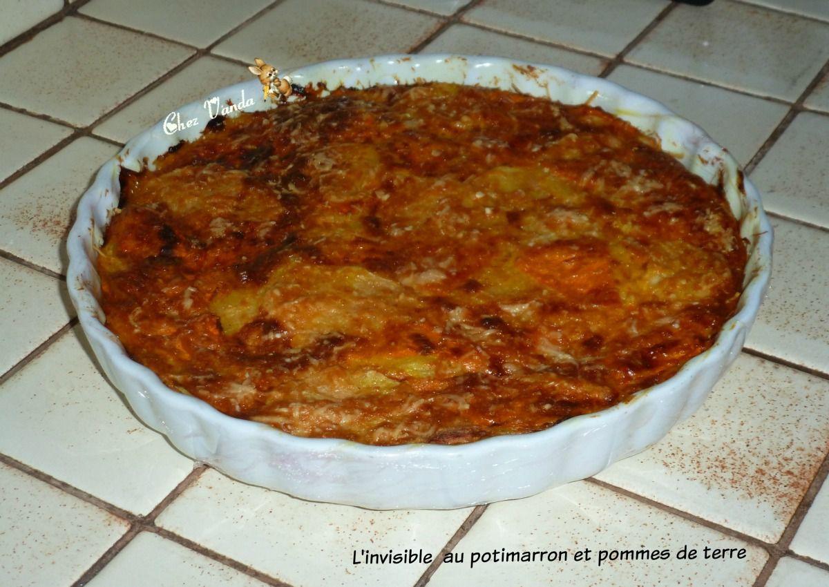 L'invisible  au potimarron et pommes de terre