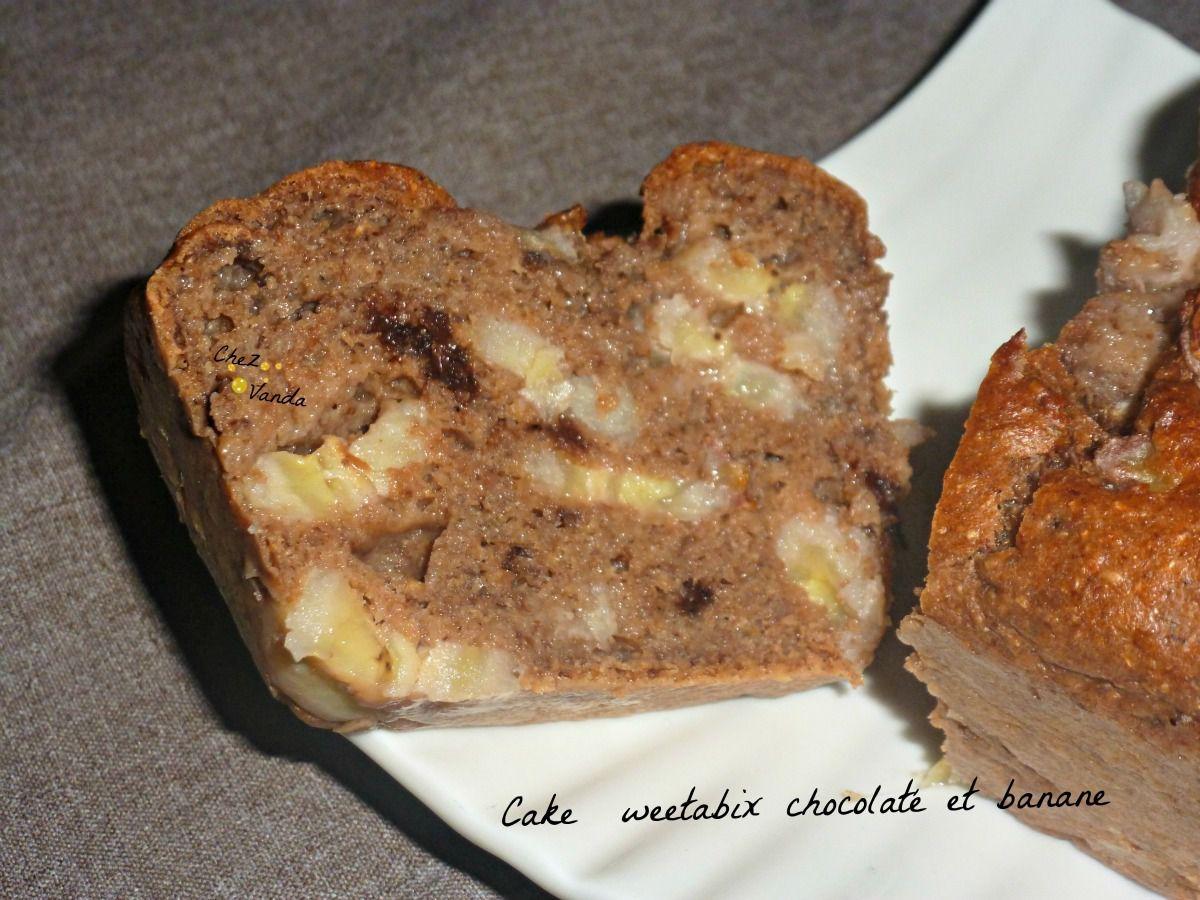 Cake Weetabix Chocolaté Et Banane Chez Vanda