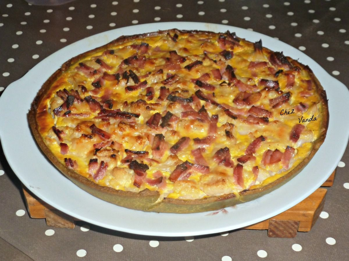 Quiche à la Du Barry
