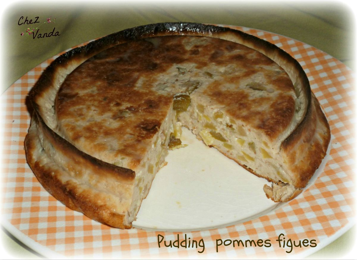 Pudding pommes figues