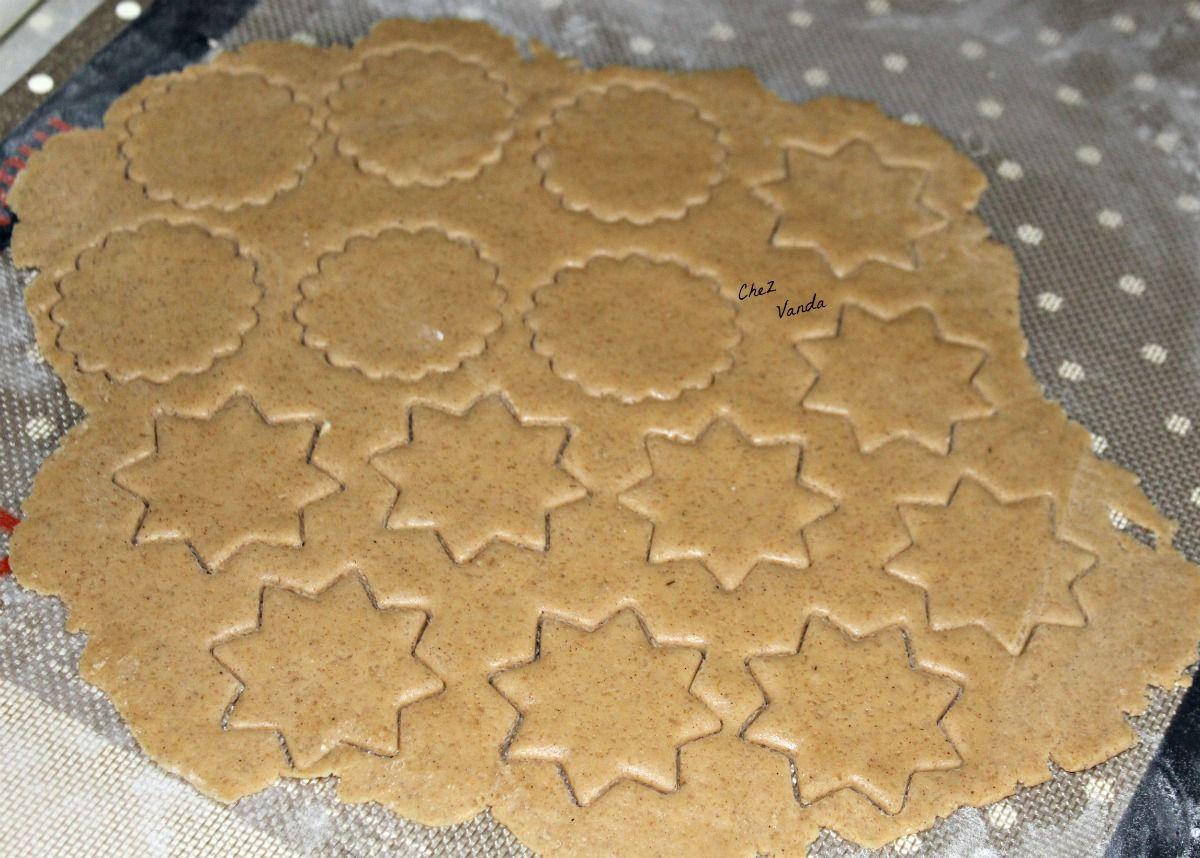 Biscuits de Noël aux saveurs pain d'épices