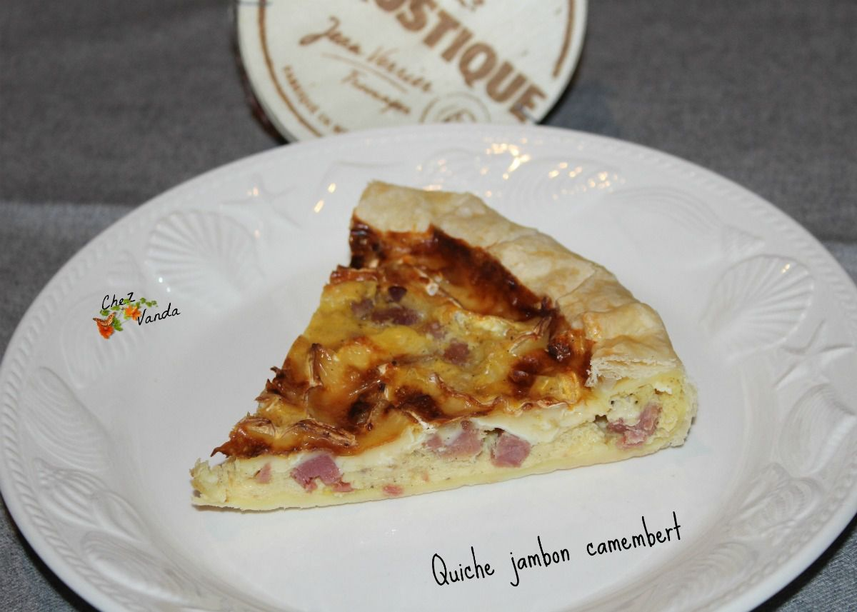 Quiche jambon  / camembert