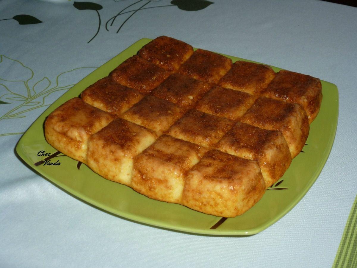 Gâteau citronné à la polenta
