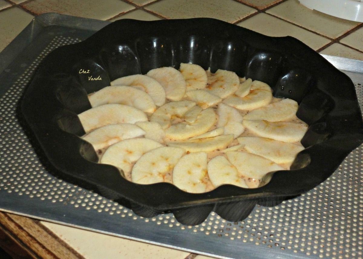 Moelleux Pommes Coings chocolaté