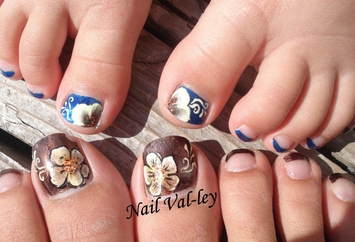 Nail art: Orteils