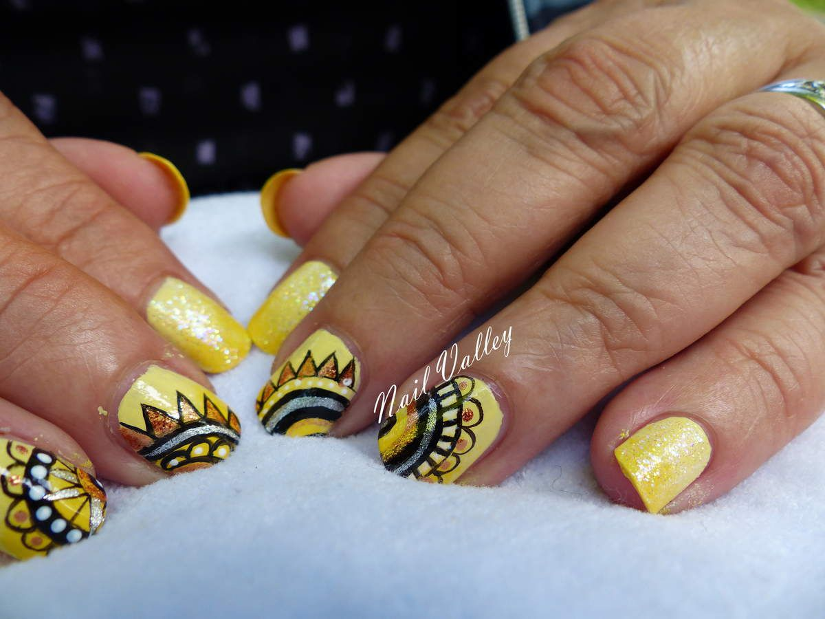 Nail art: Ethnique