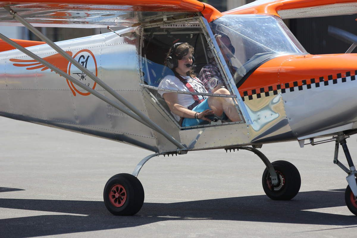 Une future pilote ? / A futur pilot ?