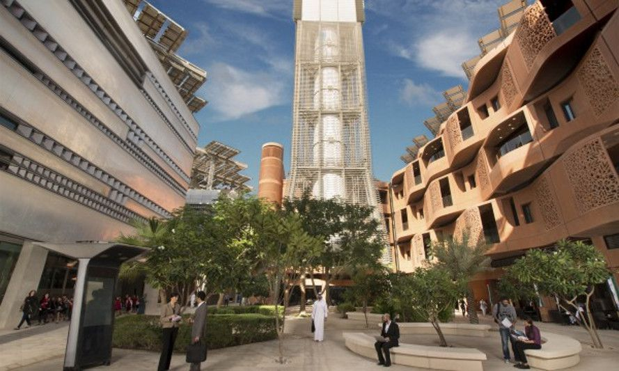 image Masdar City facebook