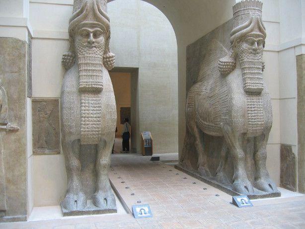 Les taureaux ailés de Khorsabad