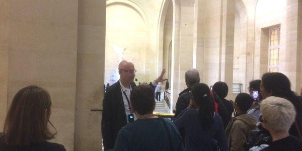 Une visite guidée au Louvre