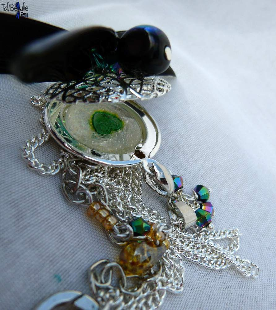 Fly me to the Moon - Collier romantique Libellule