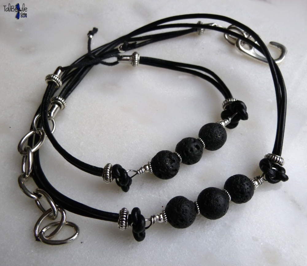 collier homme fimo