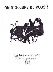 Gierik   et   Les Feuillets de corde (N° Alain Germoz)