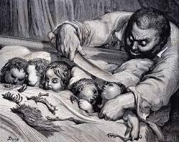 Gustave Doré, illustration pour le Petit Poucet