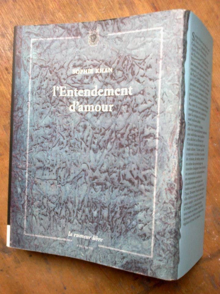 2012 Lettre d'hiver ( papiers de soie )  Livre publié en mars 2013
