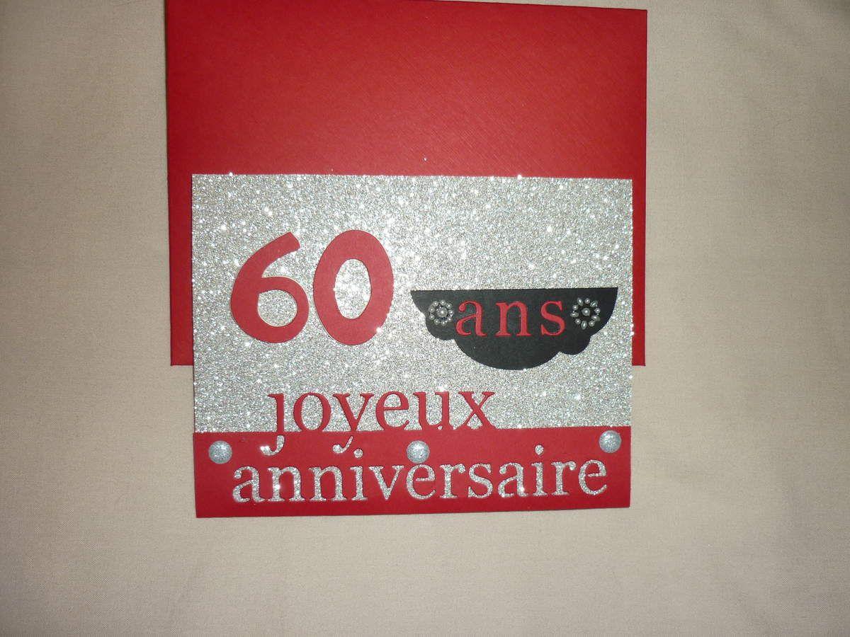 Une Carte Pour Les 60 Ans De Ma Belle Soeur Le Blog De Scrabooknet