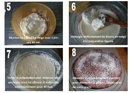 Facile et rapide à réaliser cette pâtisserie est inspirée du Millasson, un gâteau du sud de la France.