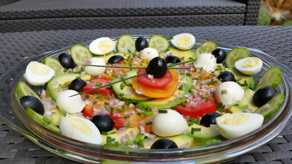 decoration salade simple