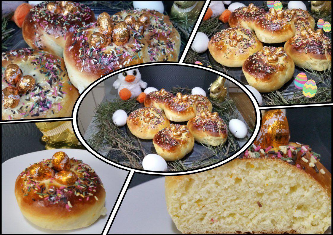 MONAS DE PASCUA (brioches de Pâques espagnoles)