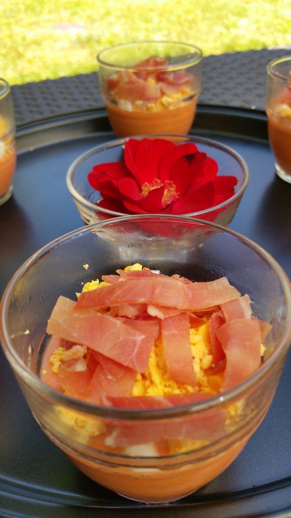 Salmorejo authentique (soupe froide de tomates)