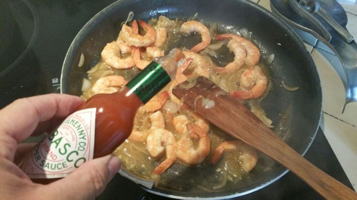 Gambas sauce piquante toc - Deglacer en cuisine signifie ...