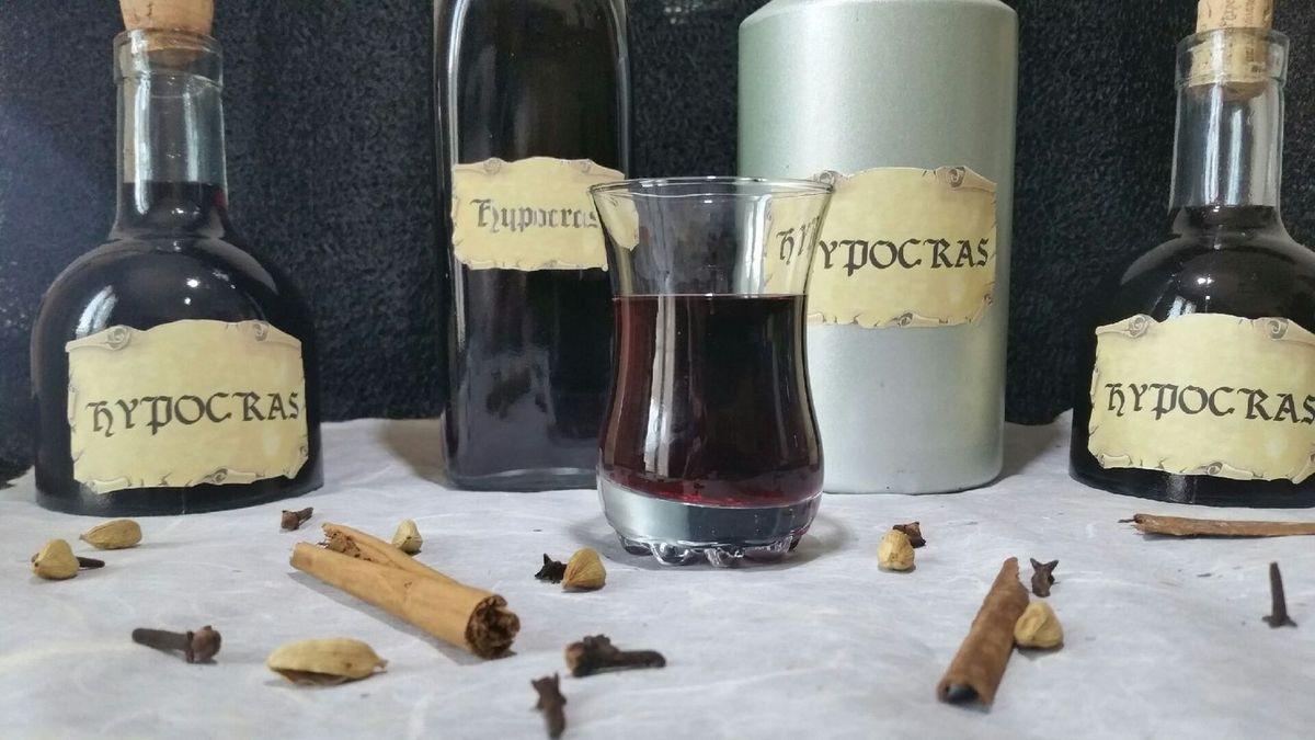 hypocras vin médiéval