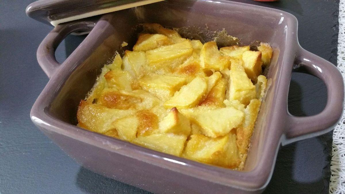 3 - Sortir du four, laisser refroidir et servir les clafoutis tièdes ou froids comme dessert à la fin d'un repas ou au goûter.