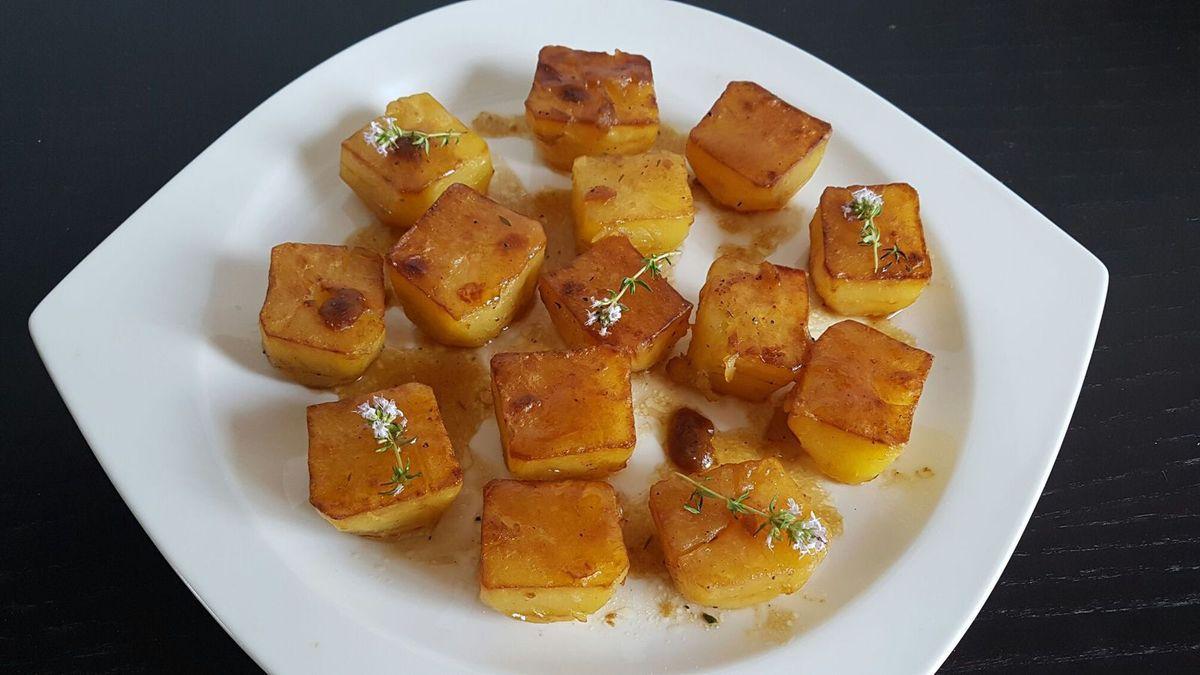 pommes de terre crousti-fondantes