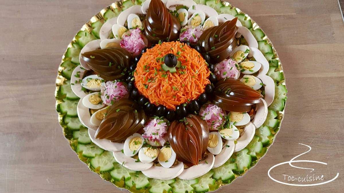 Salade De Crudites Pour Repas Fraicheur Toc Cuisine Fr