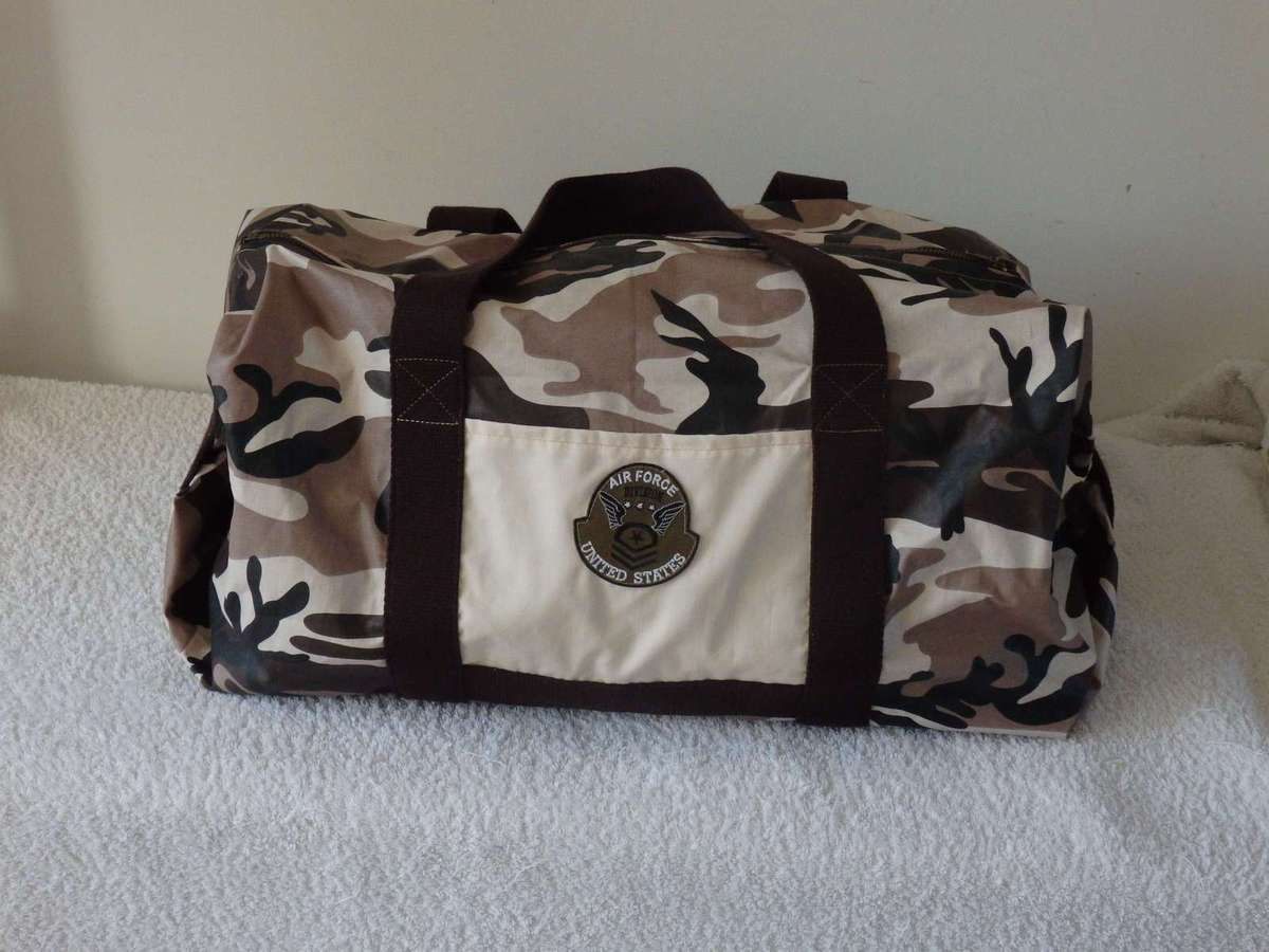 Sac week-end impression militaire