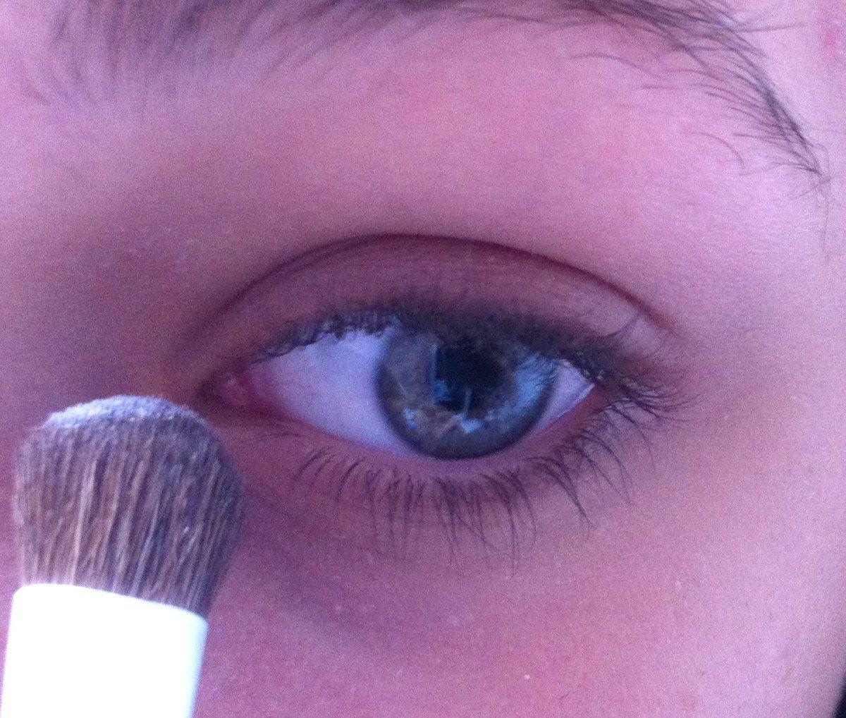 Maquillages�  avec la palette Semi-sweet chocolat bar
