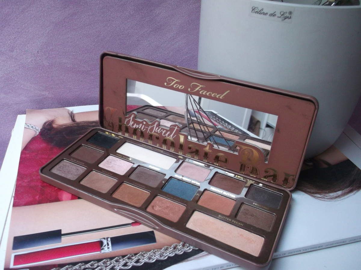 Maquillage aux doigts